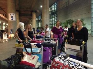 At the Ninoy Airport