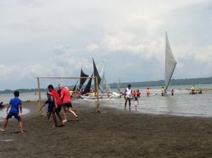 Sandbar soccer