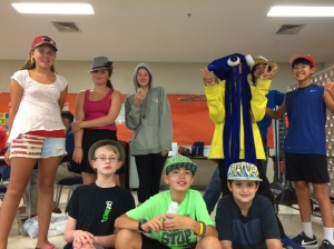 Eighth grade Hat Day